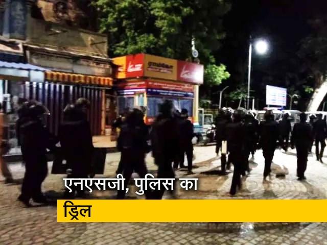 Video : मीनाक्षी अम्मन मंदिर में NSG और तमिलनाडु पुलिस का आतंकियों से मोर्चा लेने का अभ्यास