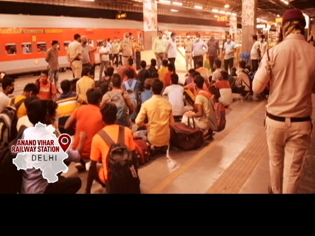 Video : Children Being Transported In Trains, Private Vehicles By Traffickers