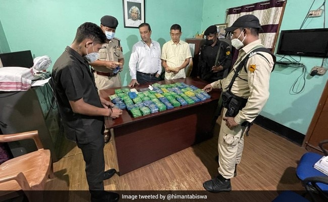 Heroin Worth Rs 4.5 Crore, Hidden In Soap Cases, Seized From Truck In Assam