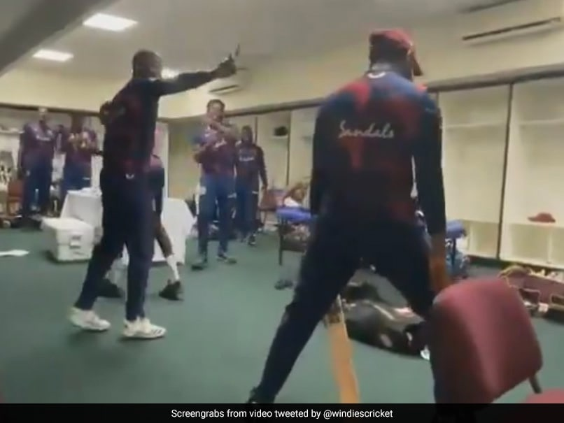 Watch: As Rain Plays Spoilsport, West Indies Players Hilariously Enact DRS Scenario In Dressing Room