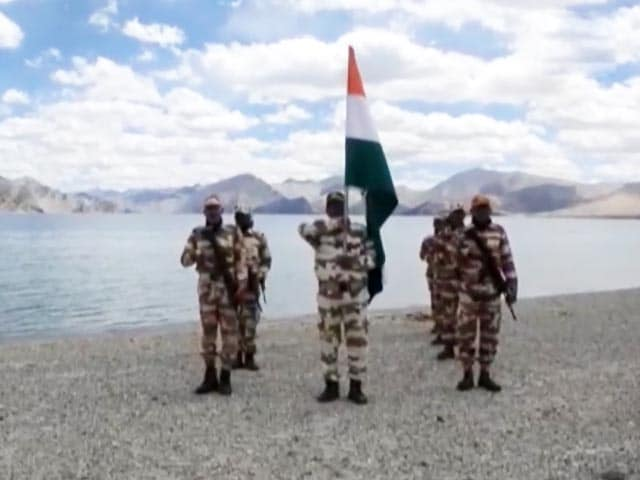 Video : National Flag At 17,000 Feet, Border Police Celebrates Independence Day