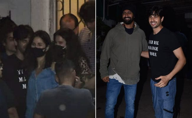 Katrina Kaif And Rumoured Boyfriend Vicky Kaushal Watch Shershaah Together. Pics Here