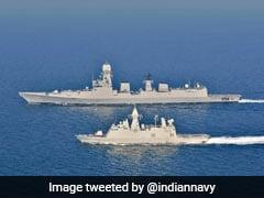 India, UAE Conduct Naval Drill Off The Coast Of Abu Dhabi