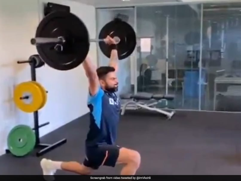 """""""No Substitute To Hard Work"""": Virat Kohlis Fitness Mantra Leaves Fans In Awe"""