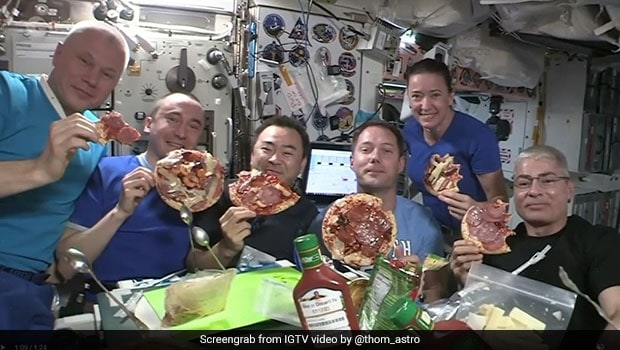Viral Video Of Astronauts Making DIY Pizza In Outer Space Will Amaze You