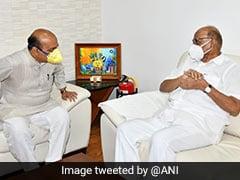 Karnataka Chief Minister Meets Sharad Pawar, Discuss Interstate Water Issues