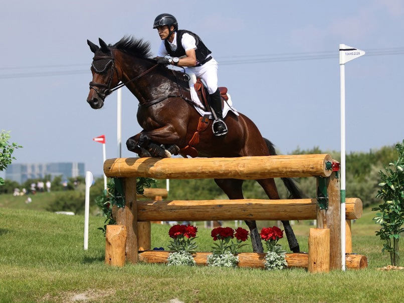 Tokyo Olympics: Fouaad Mirza 22nd After Equestrian Cross Country Round