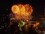 Video : Tricolour Fireworks Light Up Moscow On India's Independence Day