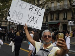 France Sees Anti-Vaccine Demonstrations For Sixth Weekend