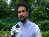 """Video : """"Billion Cheers For Team India!"""": Sports Minister On Indian Hockey Team's Victory At Olympics"""