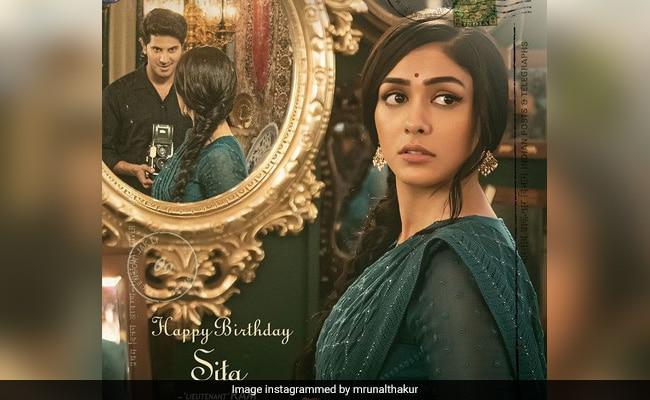 First Look: Mrunal Thakur Looks Gorgeous As Sita In The Poster Of Dulquer Salmaan's New Telugu Project