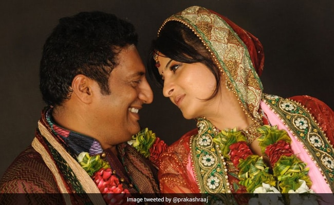 'It Turned Out So Right' For Prakash Raj And Wife Pony. See Viral Wedding Throwback