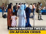 """Video : """"Why Citizenship Law Was Necessary"""": Union Minister On Afghan Crisis"""