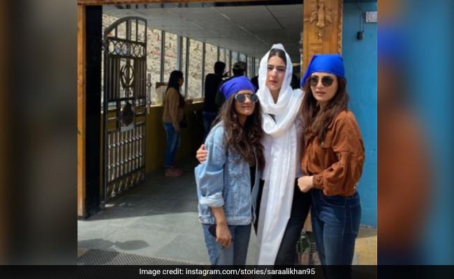 Meet Sara Ali Khan's Travel Buddies - Radhika Madan And Jasleen Royal