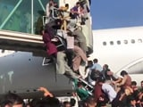 Video : Video: 1 Plane, Thousands In Queue In Desperate Scenes At Kabul Airport