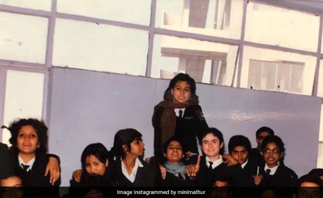 Mini Mathur Was A 'Backbencher In A Class Of Future Doctors'. Can You Spot Her?
