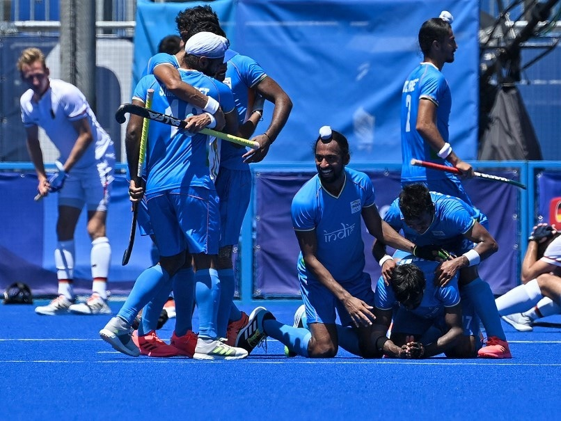 Watch: Indian Players On-Field Celebration After Bronze-Winning Heroics At Tokyo Olympics