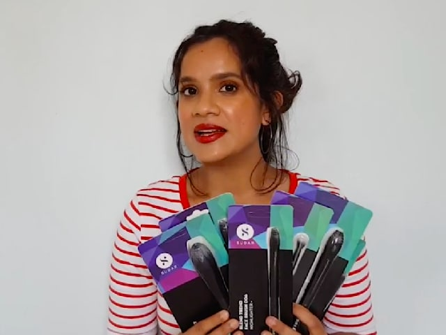 Video : Beauty Review - SUGAR Cosmetics Blend Trend Makeup Brushes