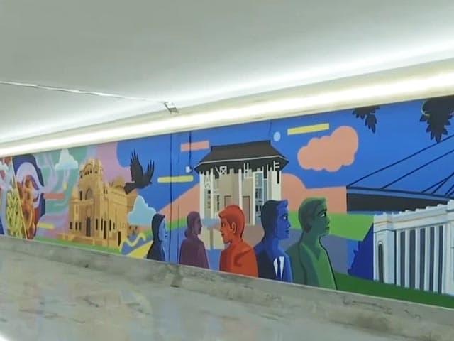 Video : कोलकाता: शहर में बने सबवे को दिया गया नया रूप, दीवारों पर यहां की संस्कृति और इतिहास की झलक