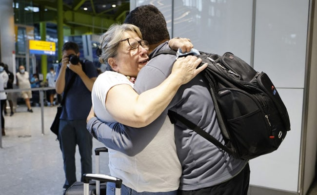 'Struggling To Put Into Words': Fully Vaccinated EU, US Passengers Arrive In UK