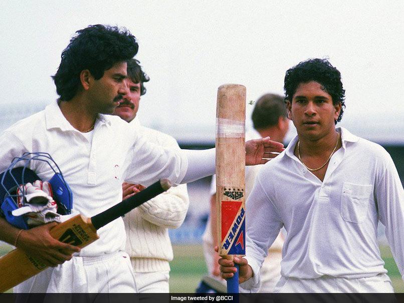 On This Day In 1990: Sachin Tendulkar Scored His Maiden International Century