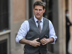 """Daredevil Tom Cruise, 59, Rode Bike Off Cliff In """"Most Dangerous Stunt"""" For <i>Mission: Impossible 7</i>"""