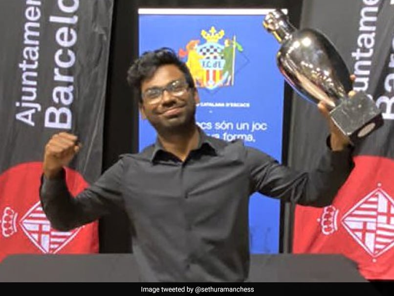 Indian Grandmaster SP Sethuraman Wins Barcelona Open Chess Tournament