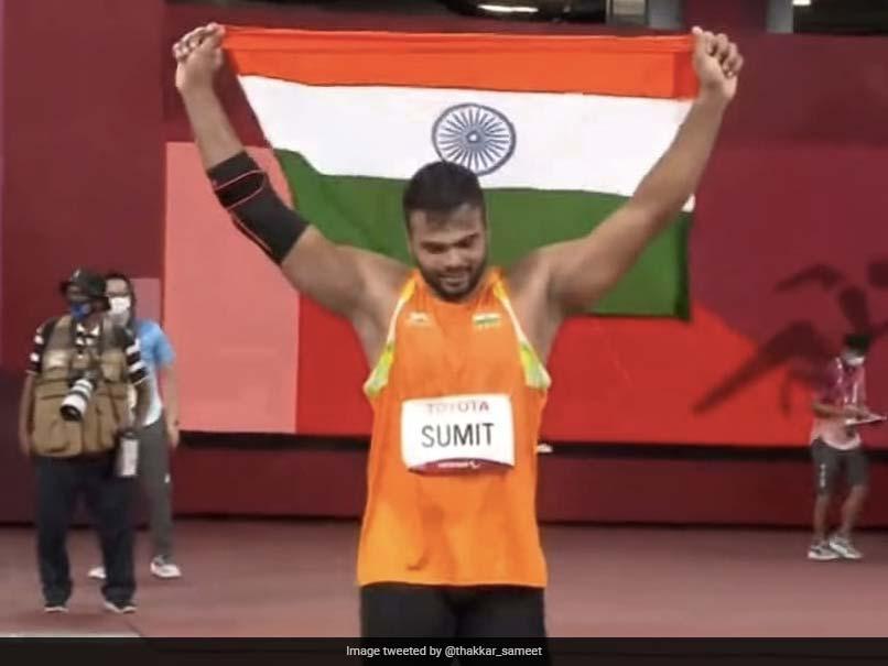 "Watch: Sumit Antils ""Khatarnak"" Performance To Win Javelin Gold At Tokyo Paralympics"
