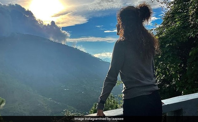Taapsee Pannu Rings Into Her 34th Birthday In Nainital. See Pic