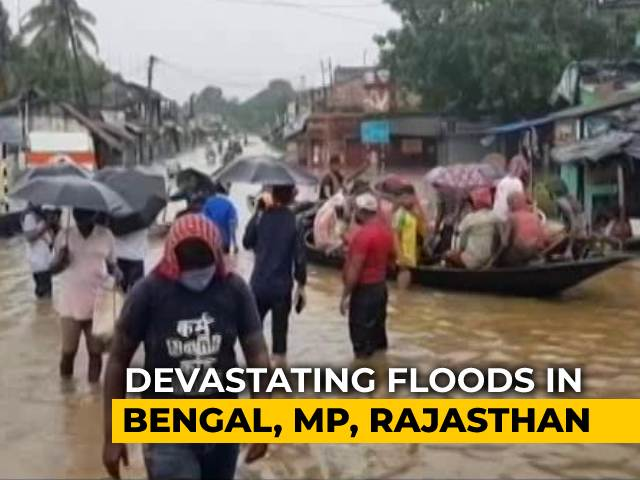 Video : 3 Lakh Displaced In South Bengal Amid Devastating Floods