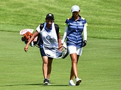 """""""Wanted Her To Be A Part"""": Aditi Ashok To NDTV On Having Her Mom As Caddie"""