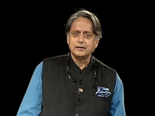 """Video : Shashi Tharoor Accepts Congress Colleague's Apology Over """"Donkey"""" Remark"""
