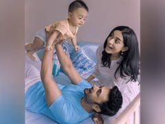 How Amrita Rao, RJ Anmol Celebrated Baby Son Veer's 9-Month Anniversary