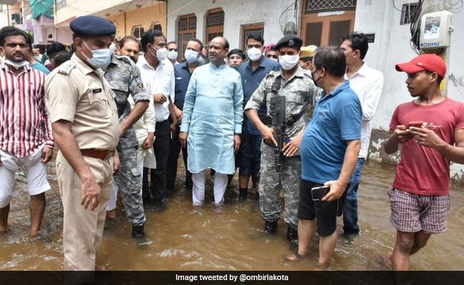 राजस्थान में भारी बारिश: लोकसभा स्पीकर का अधिकारियों को निर्देश- जल्द दिलाएं मुआवजा