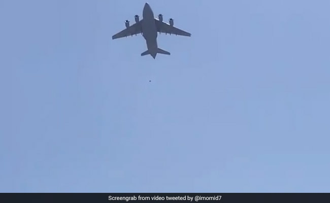 Videos: 3 Fall Off Plane, Some Huddled On Aircraft Wing In Kabul Mayhem