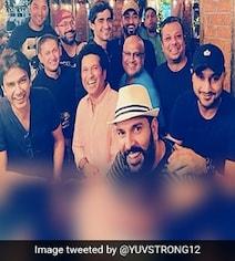 Watch: Yuvraj Singh's Montage With Former Teammates Is Friendship Goals