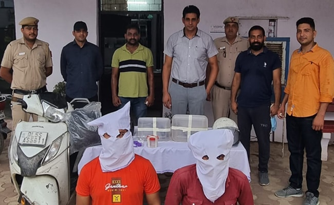 2 Arrested For Allegedly Robbing Jewellery Shop With Toy Guns In Delhi