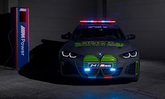 The BMW i4 M50 Is An All-Electric Safety Car For The Motor E World Cup