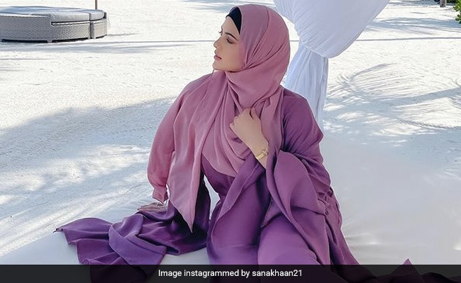 Inside Sana Khan's Dreamy Maldives Vacation. See Pics