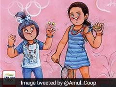 """PV Windhu"": Amul Celebrates PV Sindhu's Olympic Bronze"