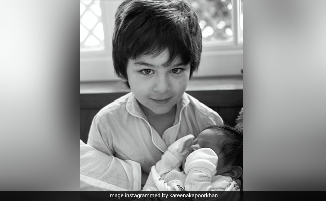 Kareena Kapoor On Taimur's Bond With Baby Jeh: 'He Is Protective, Has Older Brother Vibe'