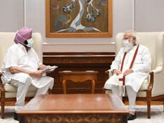 """""""Widespread Resentment"""": Amarinder Singh Meets PM On Farmers' Protest"""