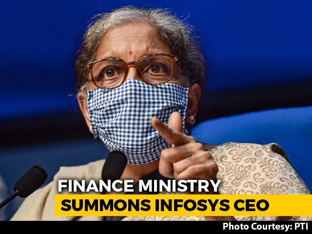 Video : Government Summons Infosys CEO To Explain Tax Site Glitches