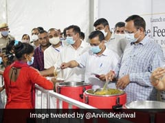 Arvind Kejriwal Launches Free Food Programme For Homeless In Shelter Homes