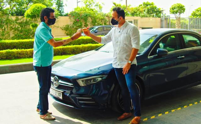 Video : Sponsored: The Mercedes-Benz A-Class Limo, Croissants And Conversations