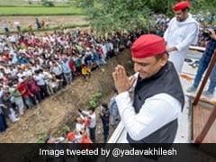 "Akhilesh Yadav On His Party's ""Realistic"" 350-Seat Aim In Uttar Pradesh"