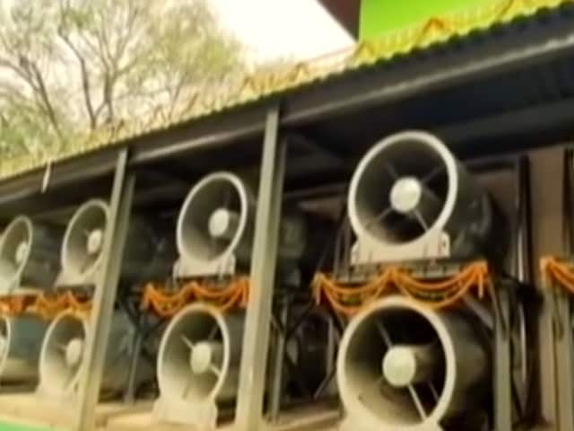 Video : India's First Smog Tower Inaugurated In Delhi
