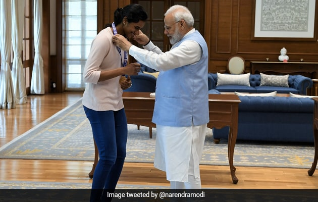 """Sindhu """"Will Now Have Ice-Cream With PM"""", Says Father After Tokyo Heroics"""