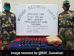 BSF Seizes 19.5 Kg Cannabis At India-Bangladesh Border, Arrests Bangladeshi Nationals