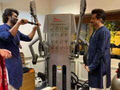 This Happened: At Rhea Kapoor's Wedding, Anil And Arjun Kapoor Stopped To Work Out